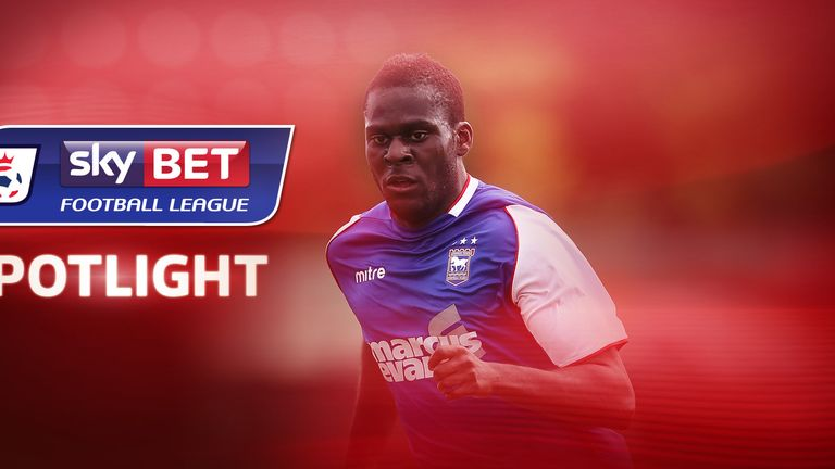 Frank Nouble: Believes the future is looking bright at Portman Road