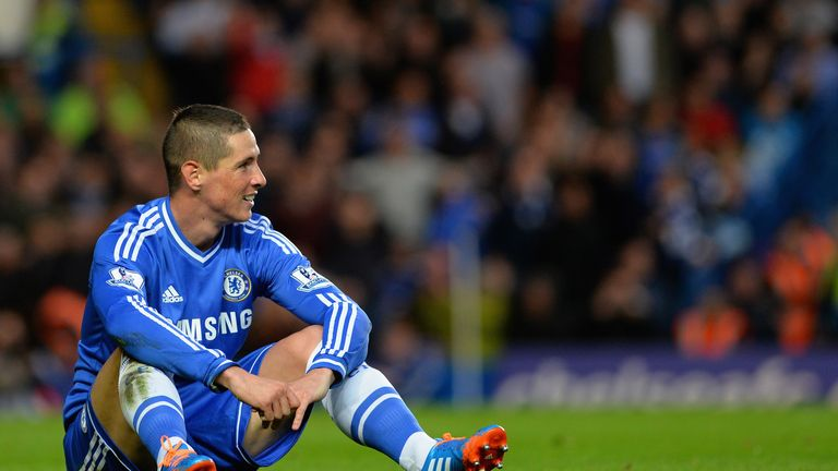 Chelsea paid £50m for Fernando Torres