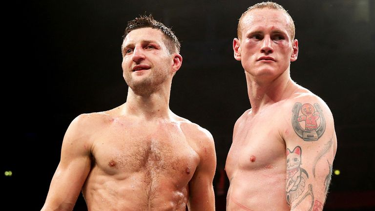 Froch and Groves: Both have disadvantages to overcome on Saturday night