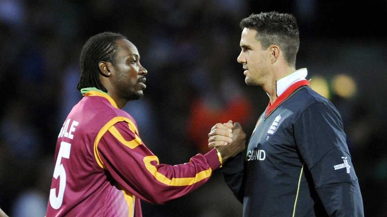 Chris Gayle and Kevin Pietersen: Best of friends