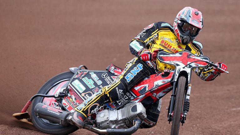 Chris Harris: Led Coventry to win (Picture credit Jeff Davies)