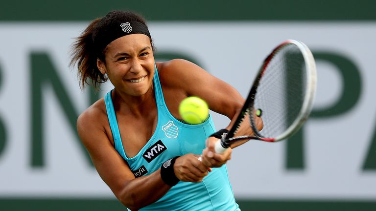 Heather Watson: Suffered an early exit in Miami