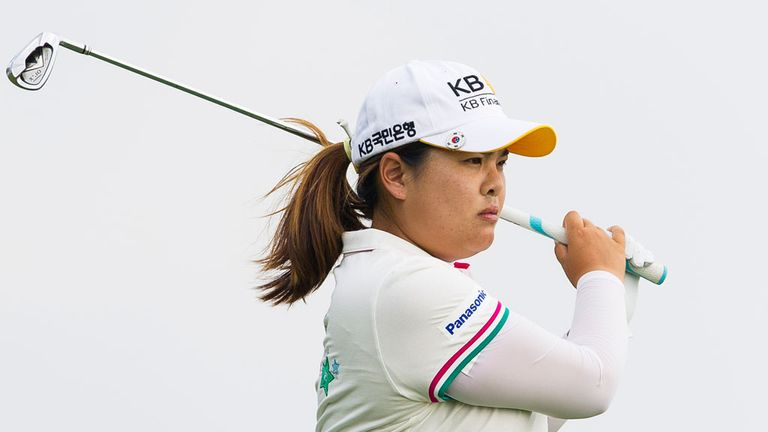 Inbee Park: Holds a one-shot at Birkdale heading into final round
