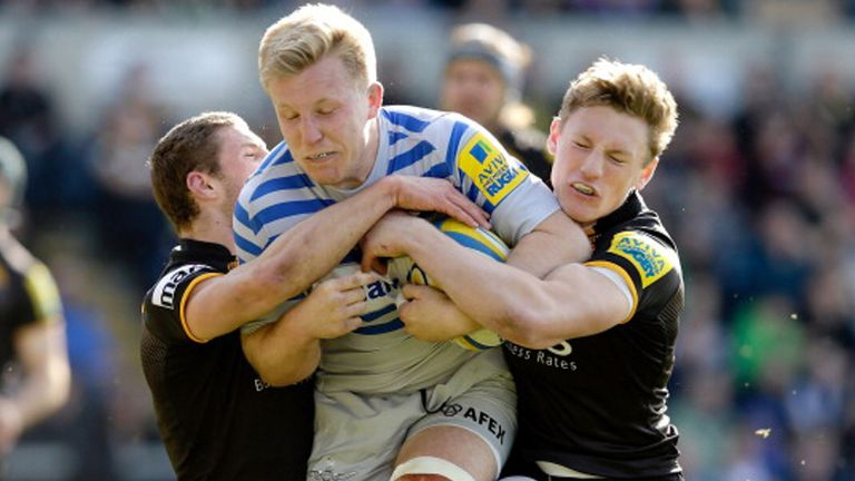 Jackson Wray: scored Saracens' first try