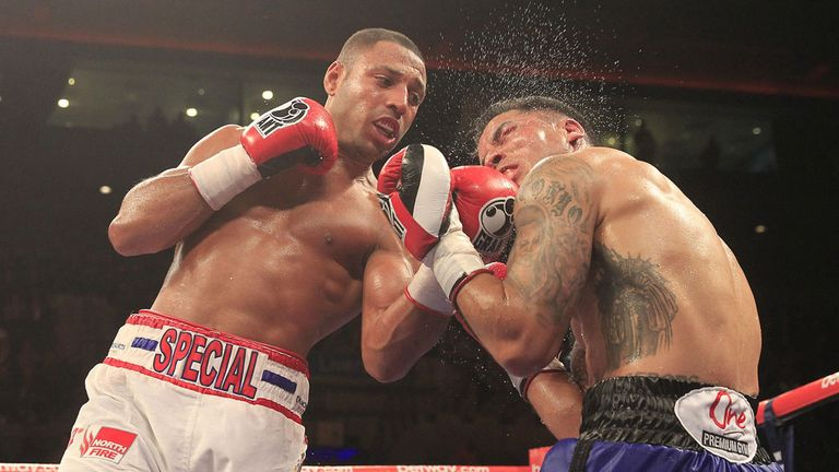 Kell Brook unleashes the fury against Alvaro Robles