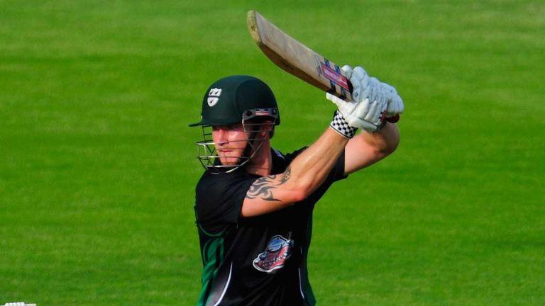 Alexei Kervezee: Worcestershire batsman with match-winning 54