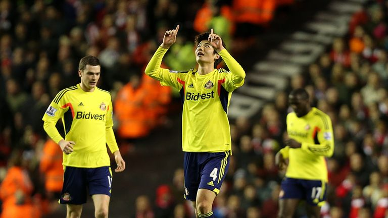 Sung-Yeung Ki: scored against Liverpool - can he do it again against West Ham?