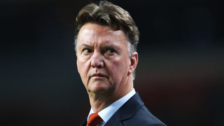 Louis van Gaal: Holland coach