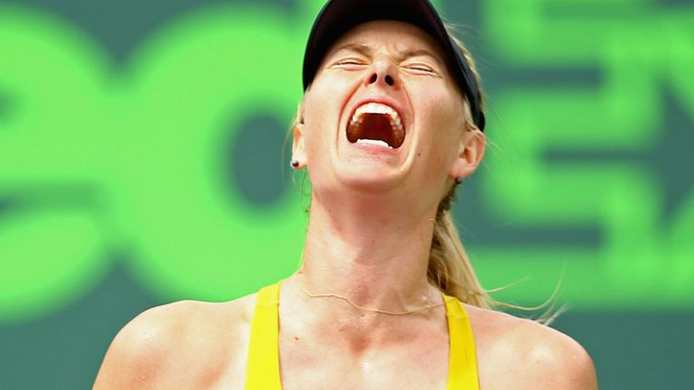 Maria Sharapova: Relieved as much as anything to beat Kirsten Flipkens