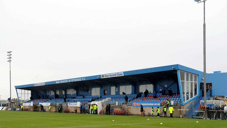 Balmoor stadium: Scene of unsavoury incident on Saturday