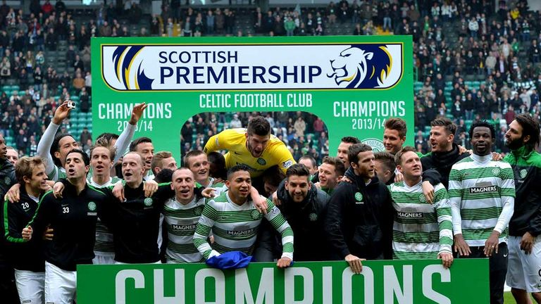 Celtic: Aiming for four-in-a-row next season