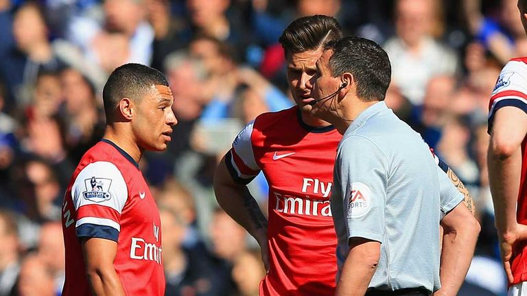 Alex Oxlade-Chamberlain: Arsenal winger available to play against Swansea