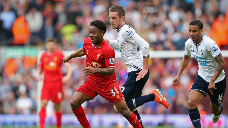 Raheem Sterling: Put in a superb performance in the 4-0 win over Spurs