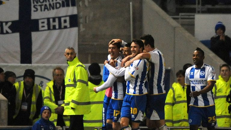 Stephen Ward celebrates settling the outcome at the Amex