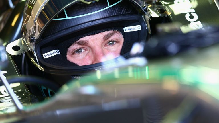 Nico Rosberg: P3 pacesetter