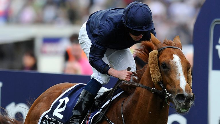 Derby winner Ruler Of The World being aimed at the Arc