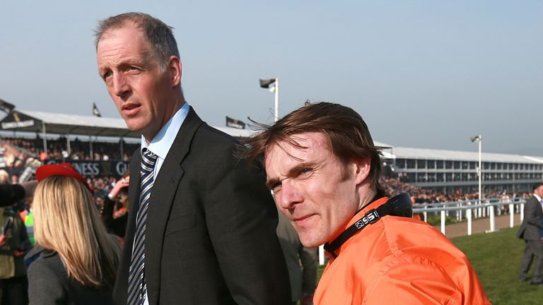 David Pipe (left) will team up with Tom Scudamore