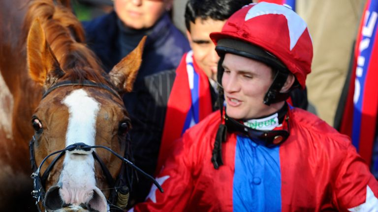 Jamie Moore: Amongst the winners at Plumpton