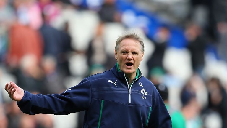 Joe Schmidt: plenty of options at outside centre