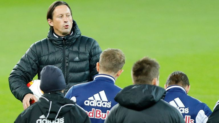 Roger Schmidt: Takes his Red Bull Salzburg side to Basel