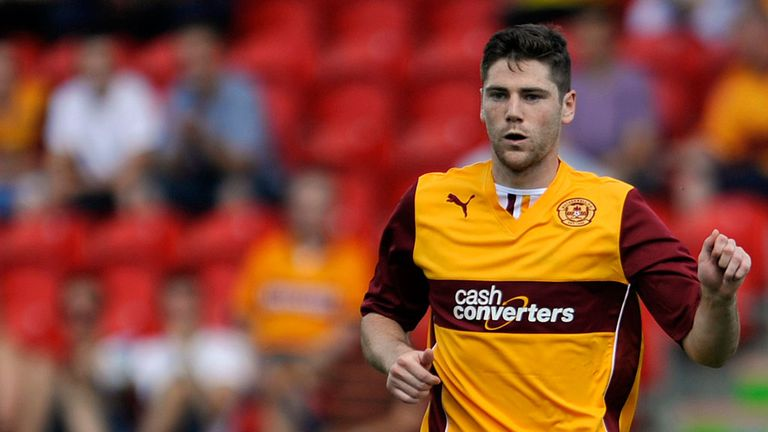 Iain Vigurs: Scored before half-time for Motherwell