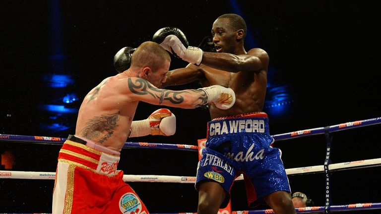 Crawford has since gone on to move up in weight and unify the WBC and WBO super-lightweight world titles