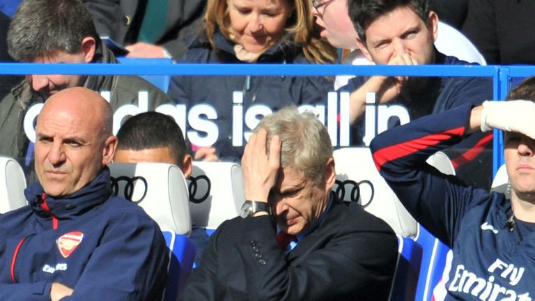 Arsene Wenger: suffered woe at Stamford Bridge last season