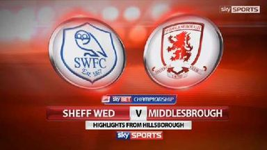 Sheff Wed 1-0 Middlesbrough