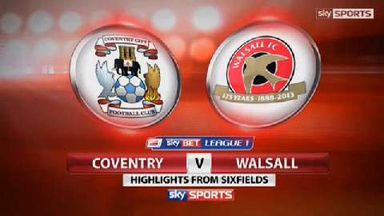 Coventry 2-1 Walsall