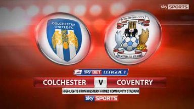 Colchester 2-1 Coventry