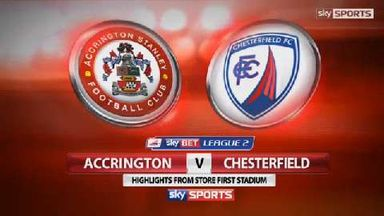 Accrington 3-1 Chesterfield