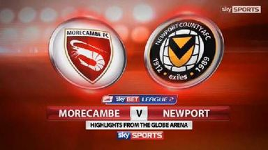 Morecambe 4-1 Newport County