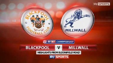 Blackpool 1-0 Milwall