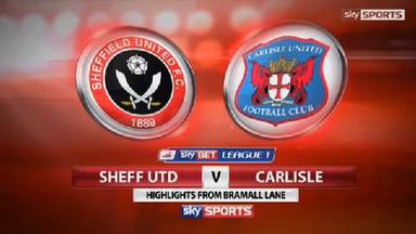 Sheffield Utd 1-0 Carlisle