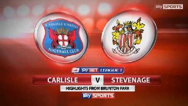 Carlisle United 0-0 Stevenage