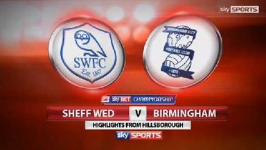 Sheffield Wednesday 4-1 Birmingham City