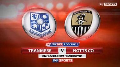 Tranmere Rovers 3-2 Notts County