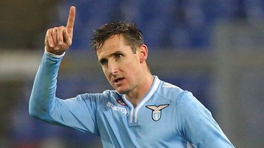 Miroslav Klose: Considering his future with Lazio deal set to expire
