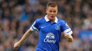 James McCarthy: Everton midfielder ready for big game with Arsenal