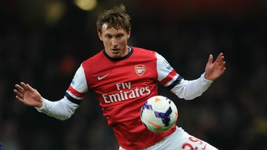 Kim Kallstrom: Delighted to complete 90 minutes for the first time as an Arsenal player