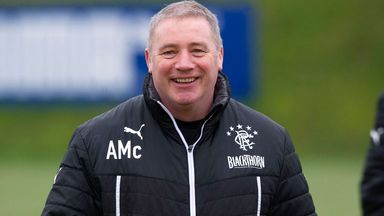 Ally McCoist: Has denied claims that club captain Lee McCulloch is a dirty player