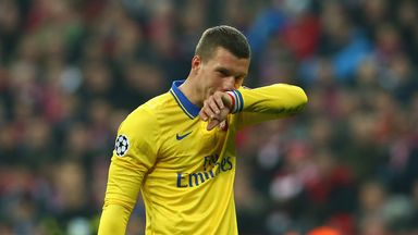 Lukas Podolski: Denied talk of a swap deal with Julian Draxler