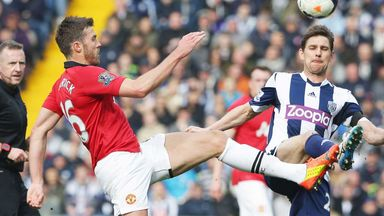 Michael Carrick: Manchester United midfielder was pleased with win at West Brom