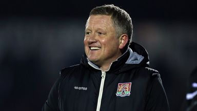 Chris Wilder: Full of praise for his defence