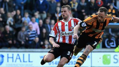 David Meyler: Praised by Steve Bruce after helping Hull to beat Sunderland