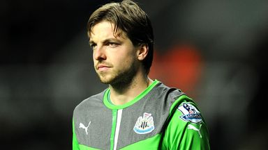 Tim Krul: Has been ruled out for up to three matches