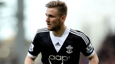 Luke Shaw: Expected to stay at Southampton