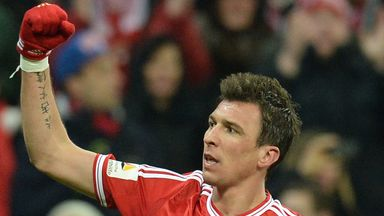 Mario Mandzukic: Bayern don't intend to sell