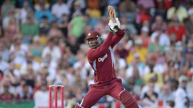 Marlon Samuels: West Indies all-rounder hit 69 not out and claimed 2-21