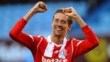 Peter Crouch: Looking forward to teaming up with Bojan Krkic
